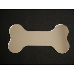 Silver Dog Bone Mirror