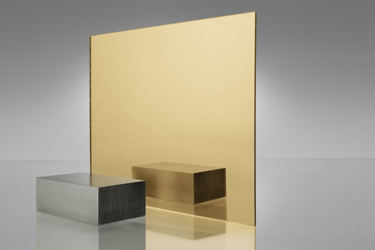 Gold Acrylic Mirror