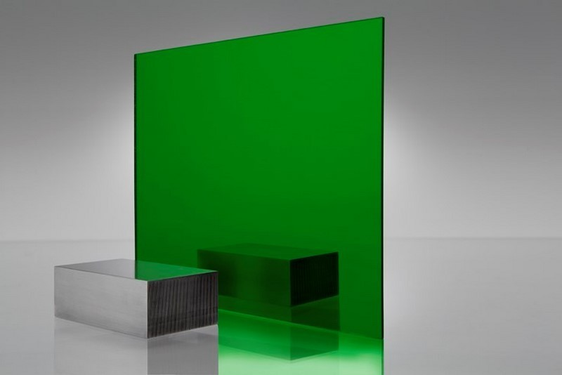 Green Acrylic Mirror