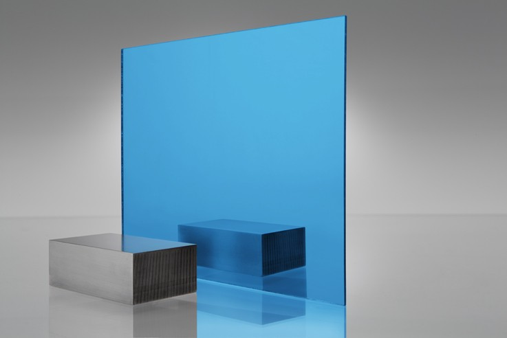 Blue Acrylic Mirror