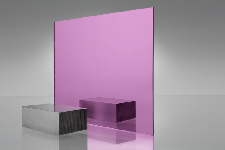 Pink Acrylic Mirror