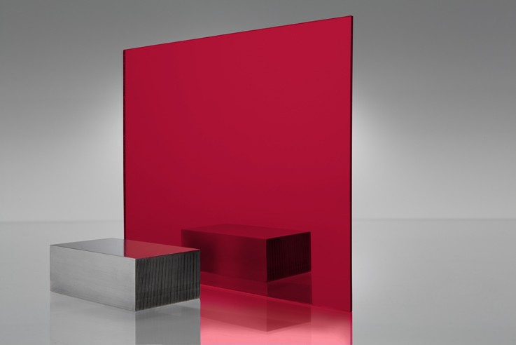 Red Acrylic Mirror