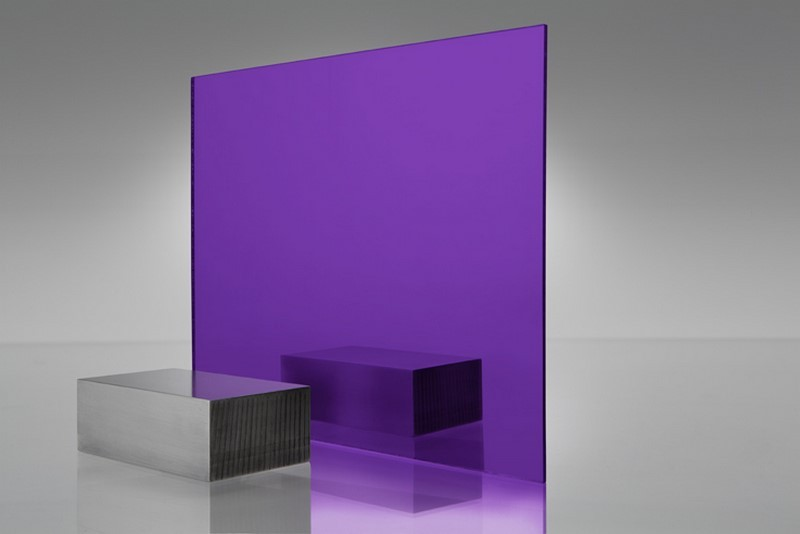 Purple Acrylic Mirror